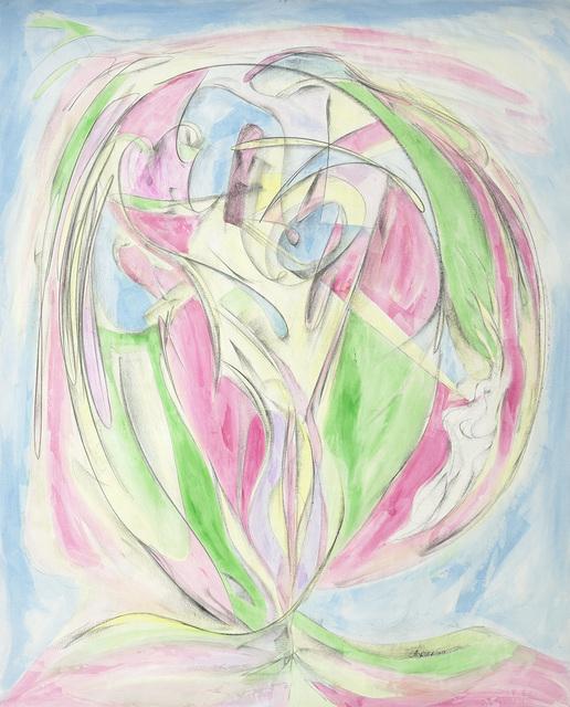 Joseph Sánchez, 'Feb. 28, 2019 (Alex's birthday commemoration)', 2018, Painting, Conte & acrylic on paper, Kinsman Robinson Galleries