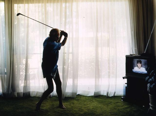 Larry Sultan, 'Golf Swing', 1989, di Rosa