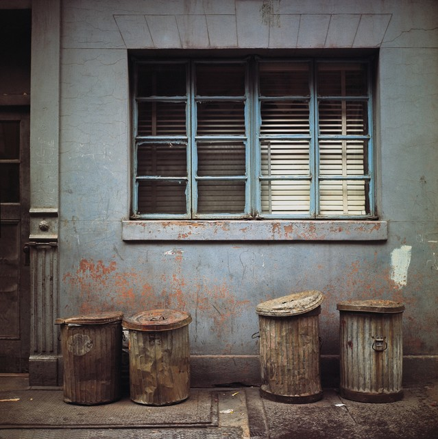 Michel Hosszu, 'GARBAGE CANS – NEW YORK 1964', 1964, Poulpik Gallery