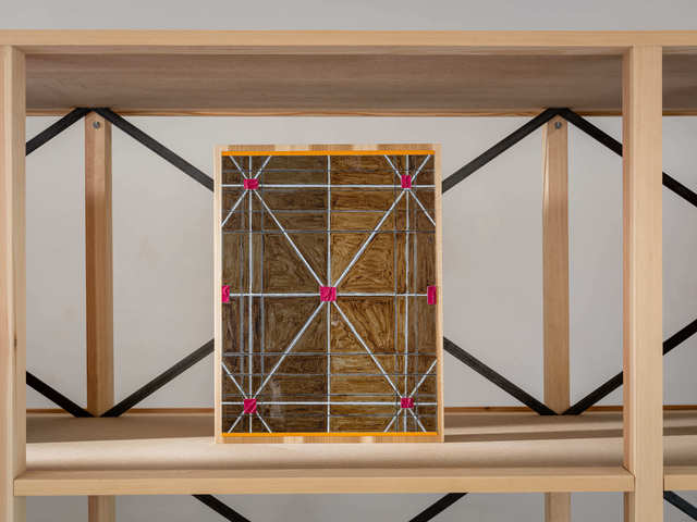 Matts Leiderstam, 'Panel 57', 2020, Painting, Oil and acrylic on poplar panel, Andréhn-Schiptjenko
