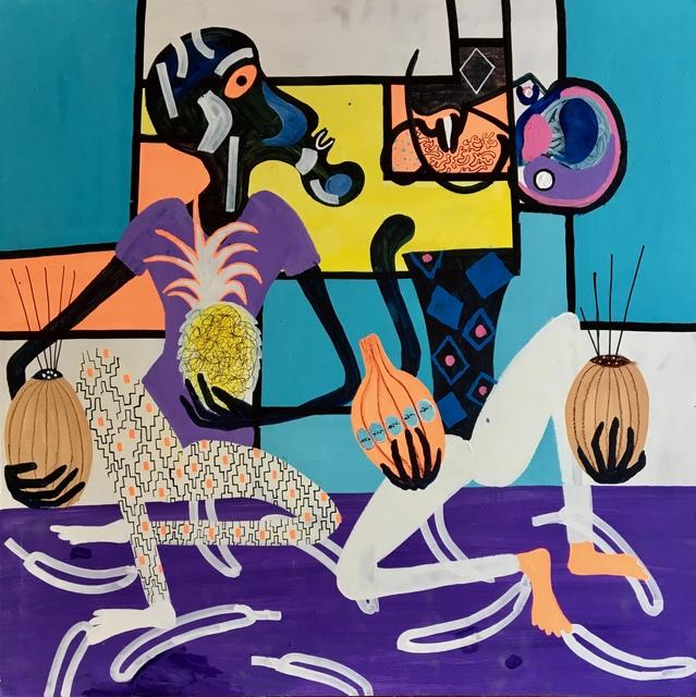 Frantisek Florian, 'African figures 15', 2019, design art concepts