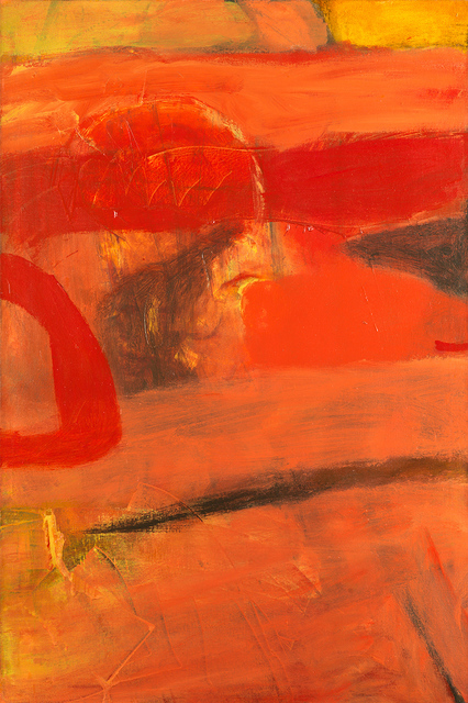 , 'Echoing Red,' ca. 1965, Whitford Fine Art