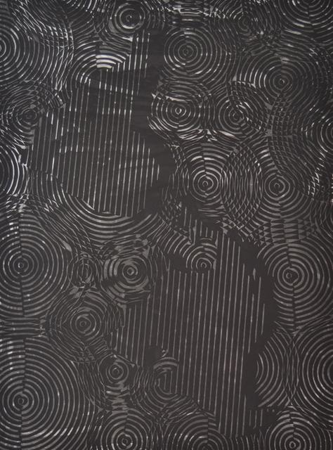 , 'Mapa frente al espejo (América),' 2016, Galería La Caja Negra