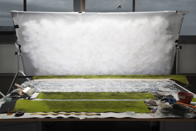 """, 'Making of """"Rhein II"""" (by Andreas Gursky, 1999),' 2012, Galleria del Cembalo"""