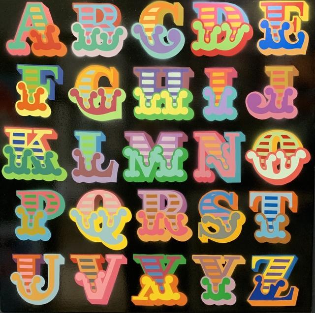 , 'Alphabet Circus Font ,' 2018, Landmark Street Art