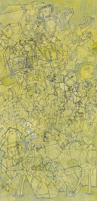 Yuan Wu Zheng  郑元无, 'Composition in Green No.1', 2017, White Space Art Asia