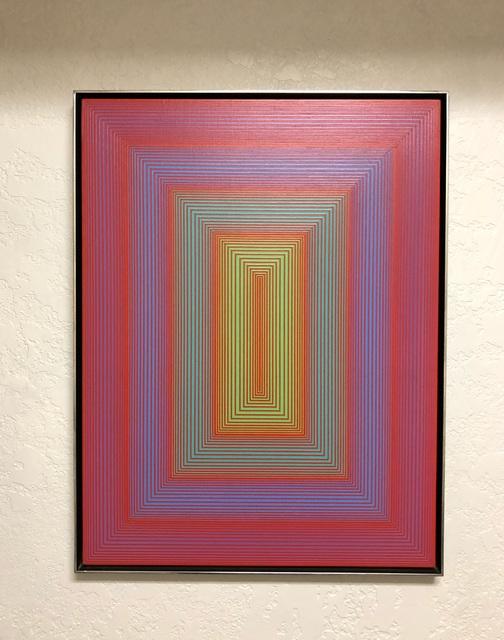 Richard Anuszkiewicz, 'The Inner Space', 1970, Painting, Acrylic on board, Artsy x Rago/Wright