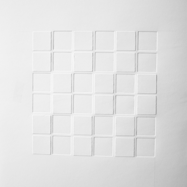 , 'Grid in light and shadow 2,' 2019, Galerie Franzis Engels