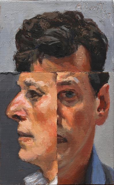 , 'Three Views of the Self 1,' 2017, Charles Nodrum Gallery