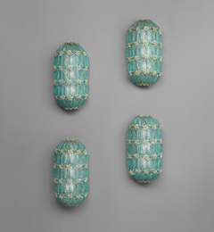 Set of four wall lights