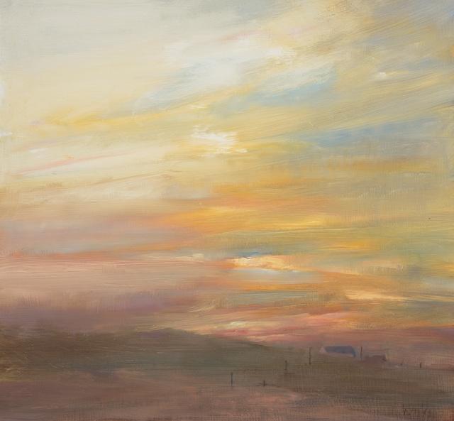 , 'Island Sunset,' 2017, Thackeray Gallery