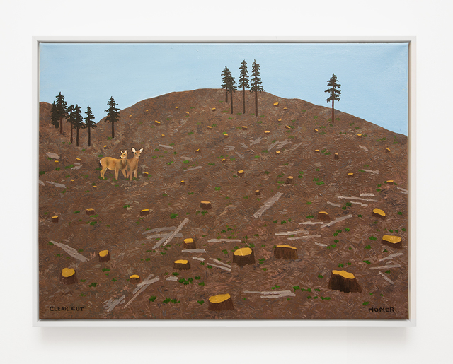 , 'Clear Cut,' 2017, VARIOUS SMALL FIRES