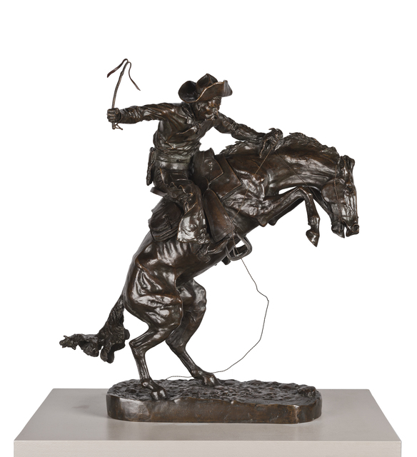 Frederic Remington, 'The Bronco Buster', 1895, de Young Museum