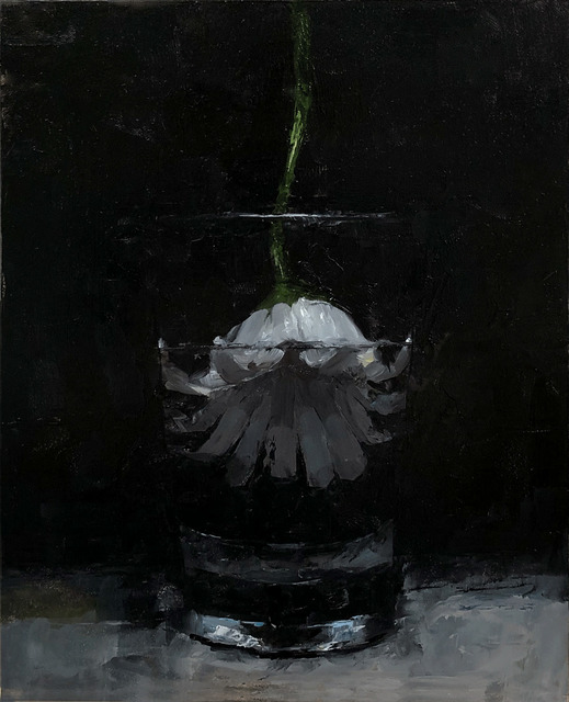 Tom Giesler, 'Floral 19: daisy #2', 2020, Painting, Oil on panel, McVarish Gallery
