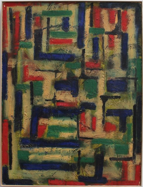 , 'Colours in Abstract,' 1953, Bureau of Interior Affairs