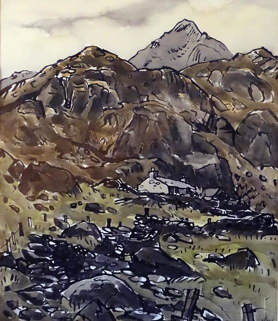 Kyffin Williams, 'Blaen Nant', ca. 1975, Waterhouse & Dodd