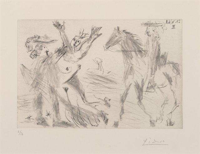 Pablo Picasso, 'Enlèvement, from Séries 347', 1968, Heritage Auctions