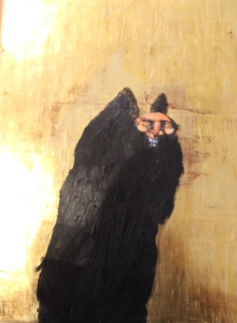 Manuel de Cisneros, 'SIN TITULO (PERSONAJE NEGRO)', 2010, Galería Quetzalli