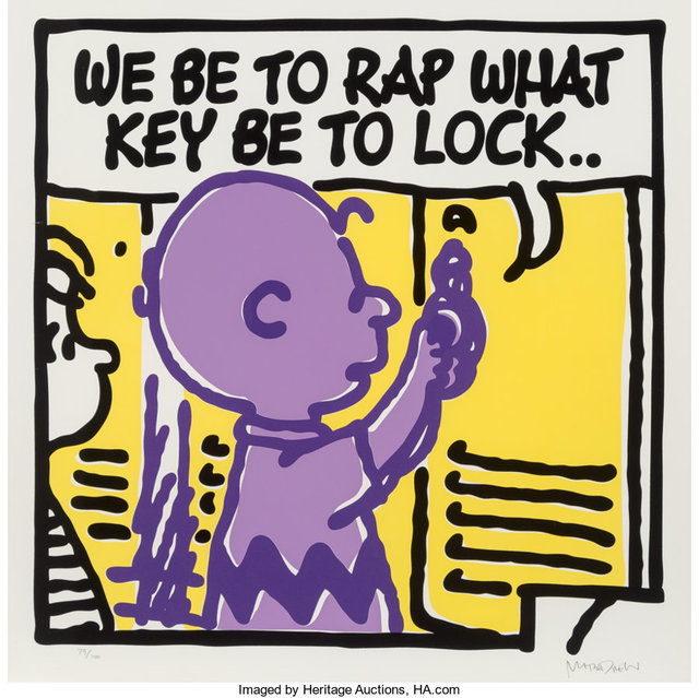 Mark Drew, 'Lock (Digable Planets)', 2019, Print, Screenprint in colors on Somerset paper, Heritage Auctions