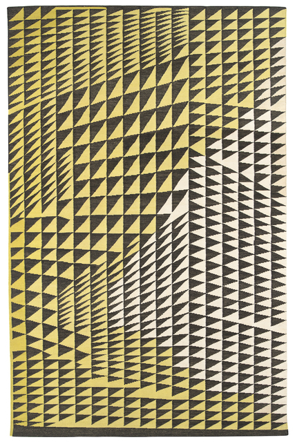 , 'Composition in Black Yellow,' 2015, Maddox Arts