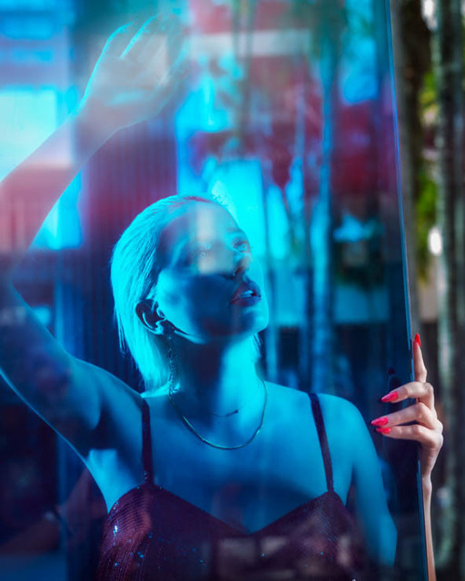 David Drebin, 'Staring Into the Blue', 2018, Isabella Garrucho Fine Art