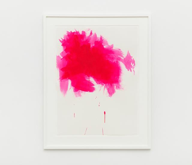 , 'Fluorescent Pink (Paper) III,' 2015, Nils Stærk