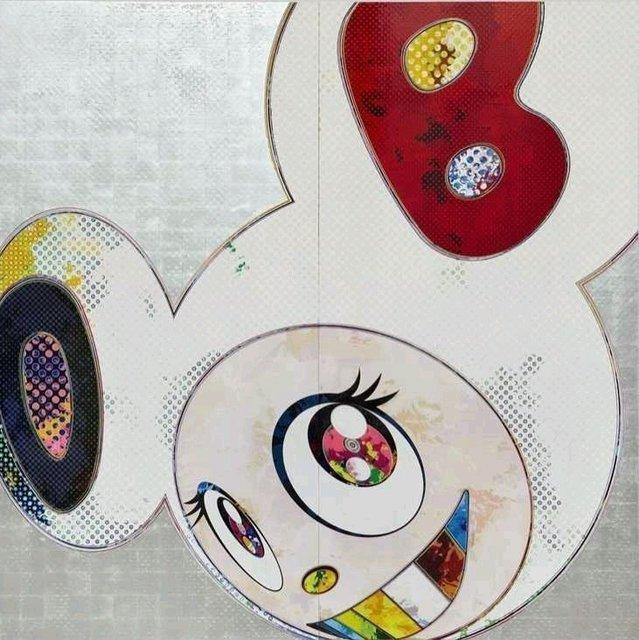 Takashi Murakami, 'DOB in Pure White Robe (Navy and Vermilion Ears)', 2013, Kunzt Gallery