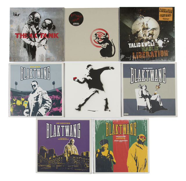 Banksy, 'Album Cover Artwork Collection', Other, Julien's Auctions