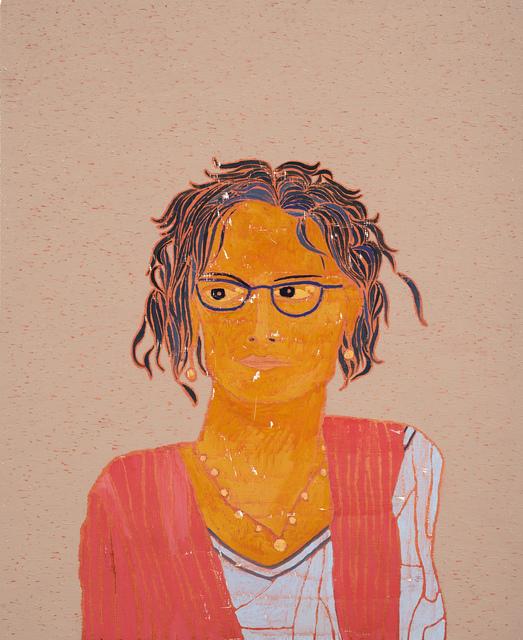 Stephen Chambers, 'Arundhati Roy', 2016, Candida Stevens Gallery