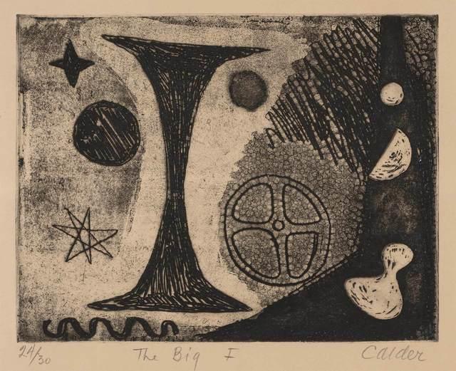 Alexander Calder, 'THE BIG I', 1944, Doyle
