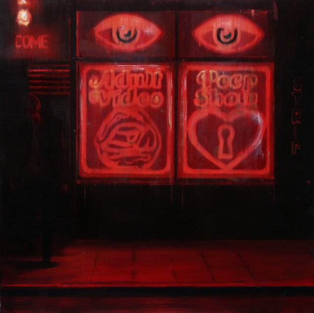 Brett Amory, '11pm - 12am La Bodega (Waiting #204),' 2014, Lazinc