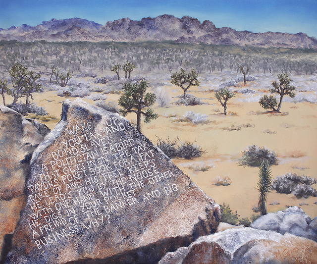 , 'Wake Up! At Samuelson's Rocks,' , Joshua Tree Art Gallery
