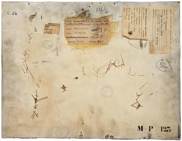 , 'Verso n°52, Composition au gant, par Pablo Picasso, collection du Musée national Picasso, Paris,' 2016, Modernism Inc.
