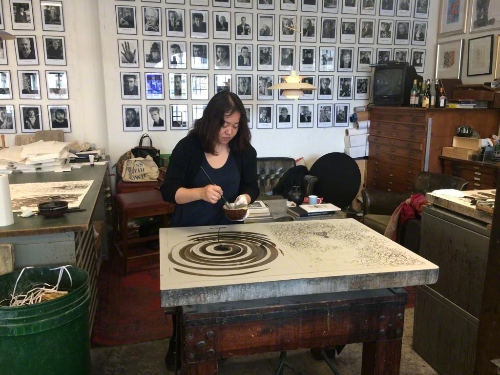 Chiharu Shiota New Original Lithographs | Edition Copenhagen | Artsy