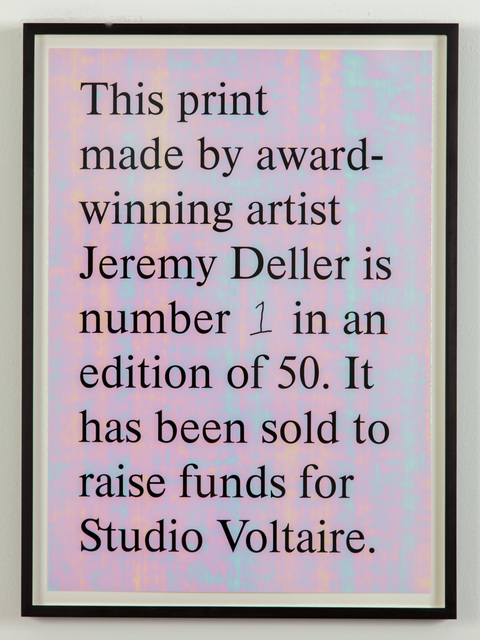 , 'Untitled,' 2019, Studio Voltaire