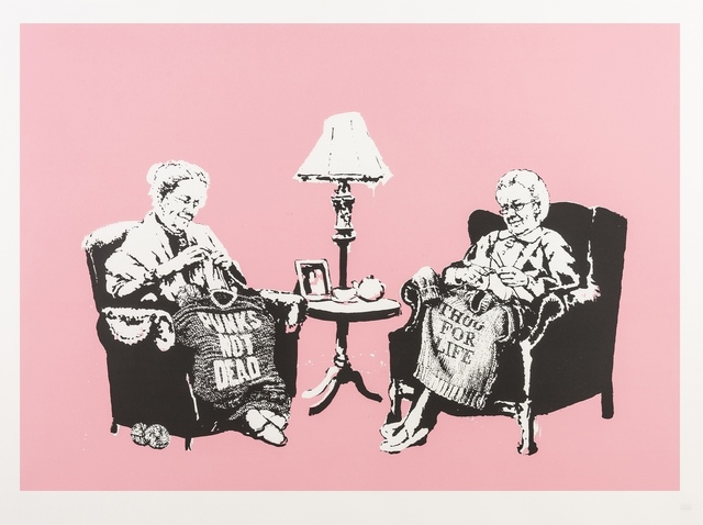 Banksy, 'Grannies', 2007, Print, Screenprint in colours, Forum Auctions