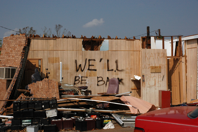 , 'We'll Be Back, Mississippi Gulf Coast, Mid September, 2005,' 2005, Cantor Fitzgerald Gallery, Haverford College