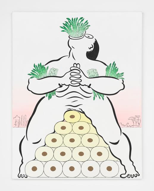 , 'Fatebe Asparagus Pee,' 2017, Magenta Plains