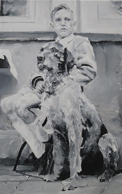 , 'Niño y perro,' 2015, LA NEW GALLERY