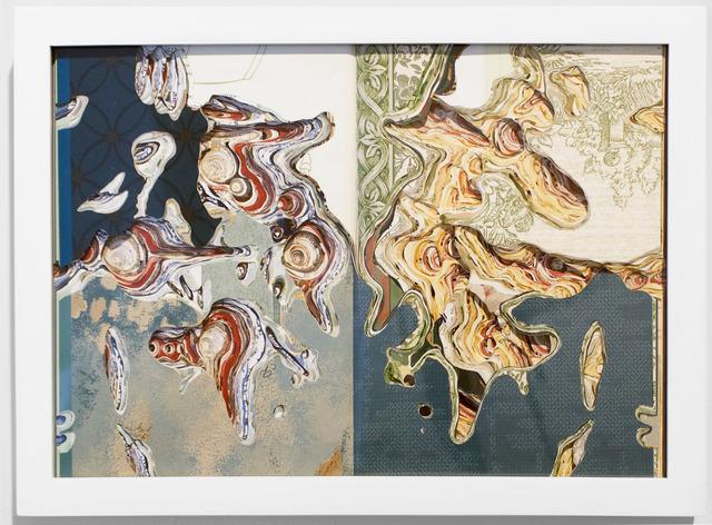 , 'Flat Globe Cutting Book Series - Wall Coverings,' 2006, Josée Bienvenu