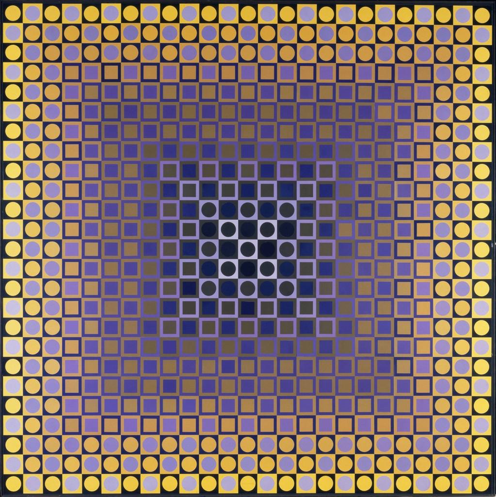 Victor Vasarely | Alom (Rêve) (1966) | Artsy