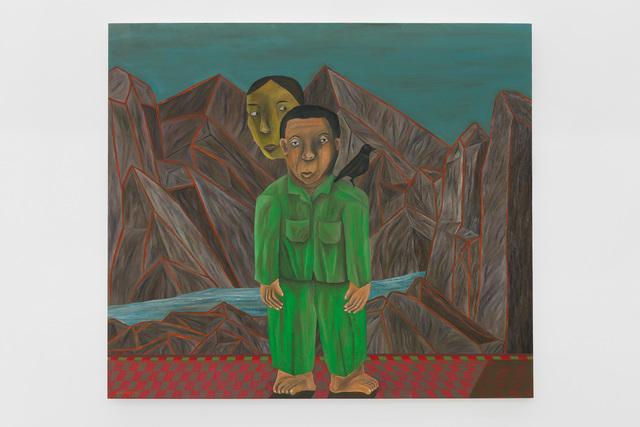 , 'Red Sea Mountain,' 2019, Gallery MOMO