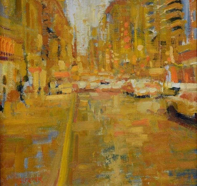 Jim Beckner, 'City in Yellow', 2015, Abend Gallery