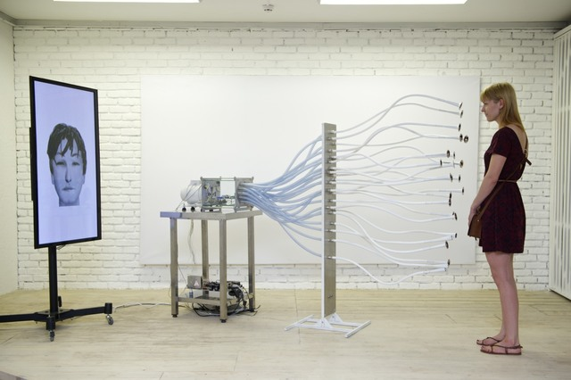 , 'Smell Faces,' 2012, Laboratoria Art & Science Space