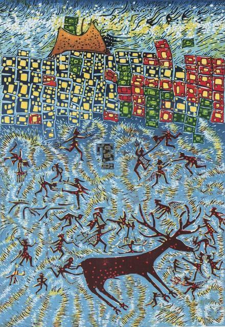 , 'Life at Çatalhöyük V - Çatalhöyük'te Yaşam V,' 2015, Anna Laudel
