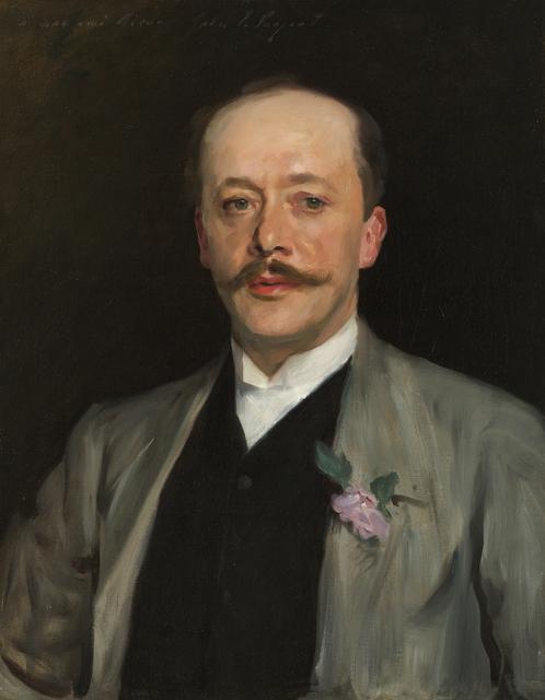 , 'Portrait of Charles Alexander Giron,' ca. 1884, Debra Force Fine Art