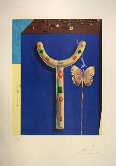 Salvador Dalí, 'Surrealist Crutches, from Memories of Surrealism. ', 1972, Shapero Modern