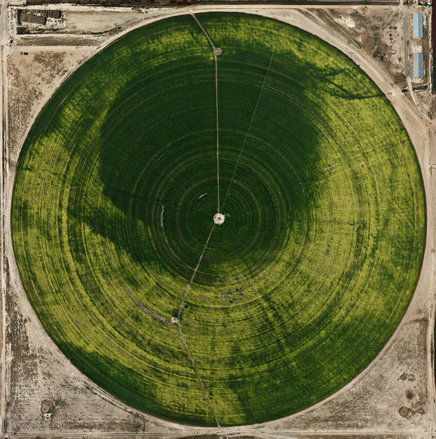 , 'Pivot Irrigation #39  High Plains, Texas Panhandle,' 2012, Bryce Wolkowitz Gallery