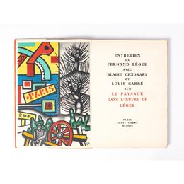 Entretien de Fernand Léger avec Blaise Cendrars et Louis Carré sur Le Paysage dans l'oeuvre de Léger Paris, Louis Carré
