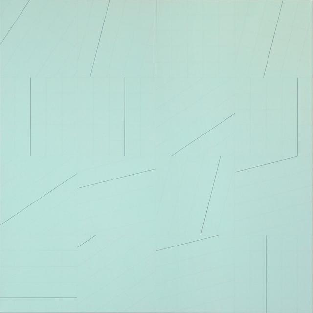 , '1/6x4x4,' 2017, Aki Gallery